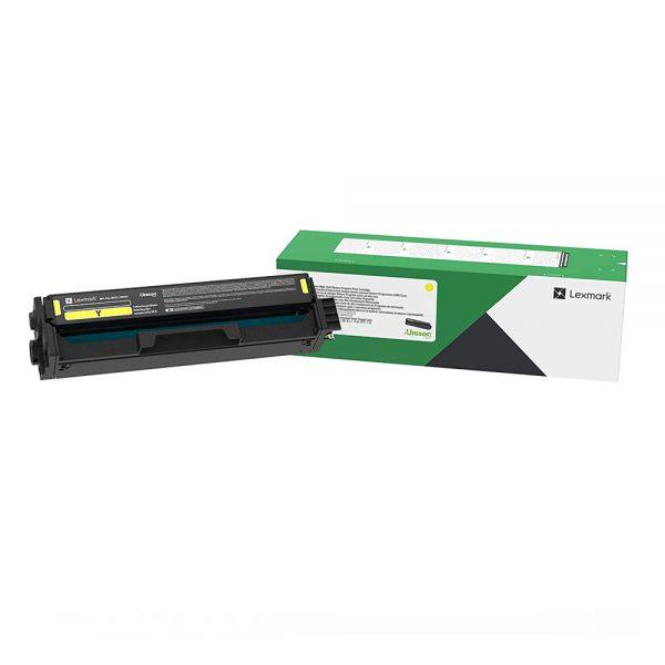 LEXMARK C/MC 3326 TONER YELLOW HC 2.5K (C332HY0) (LEXC332HY0) 0023454 lexmark cmc 3326 toner yellow hc 25k c332hy0 1
