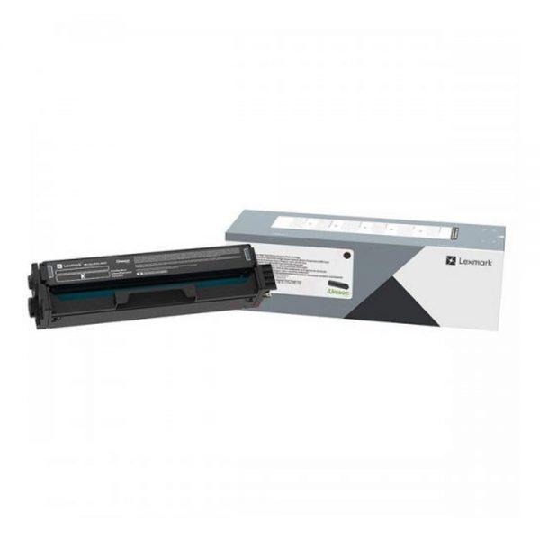 LEXMARK C/MC 3326 TONER BLACK HC 3K (C332HK0) (LEXC332HK0) 0023456 lexmark cmc 3326 toner black hc 3k c332hk0 1