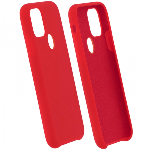 SENSO SMOOTH IPHONE 11 PRO (5.8) red backcover (with hole)