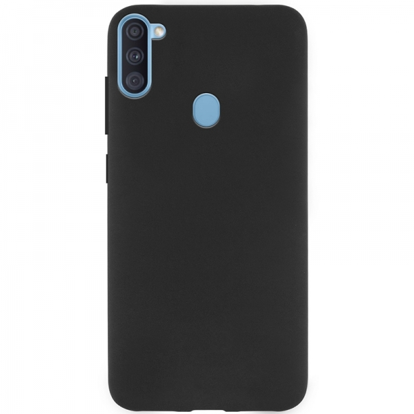 SENSO SOFT TOUCH SAMSUNG A11 black backcover