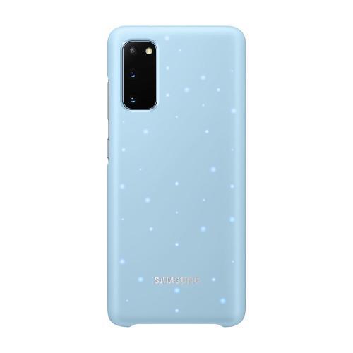 LED Cover Samsung EF-KG980CLEG G980 Galaxy S20 Γαλάζιο