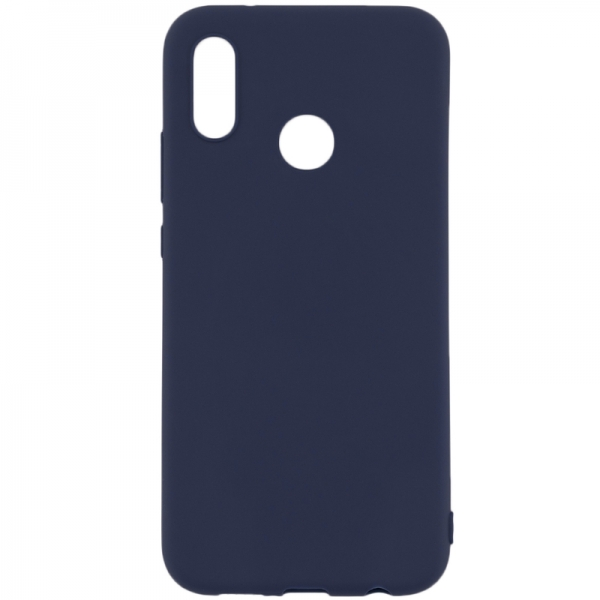 SENSO SOFT TOUCH HUAWEI Y9 PRIME 2019 / P SMART Z / HONOR 9X blue backcover
