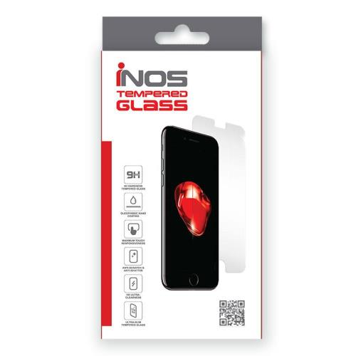 Tempered Glass Full Face inos 0.33mm Apple iPhone 8 Plus/ iPhone 7 Plus 3D Μαύρο