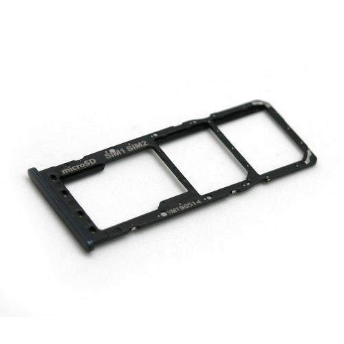 Γνήσια Βάση Κάρτας Sim & SD Samsung A105F Galaxy A10 Μαύρο