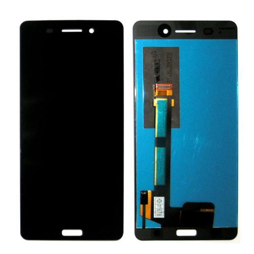 Γνήσια Οθόνη με Touch Screen Nokia 6 Μαύρο