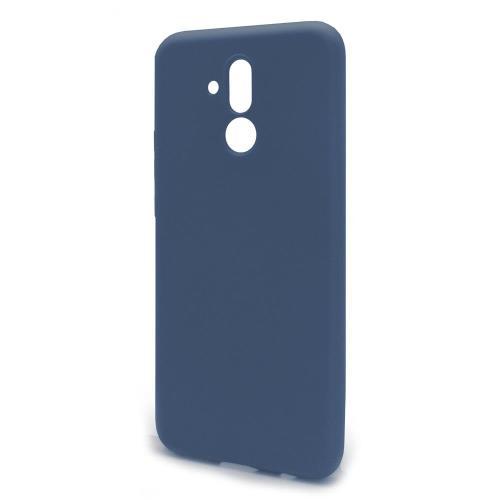 Θήκη Liquid Silicon inos Huawei Mate 20 Lite L-Cover Μπλε Ραφ