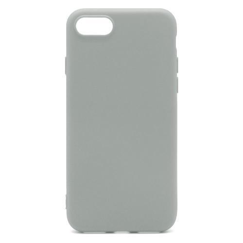 Θήκη Soft TPU inos Apple iPhone 8/ iPhone SE (2020) S-Cover Γκρι