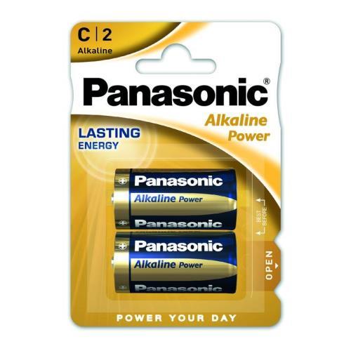 Μπαταρία Alkaline Power Panasonic C LR14 (2 τεμ.)