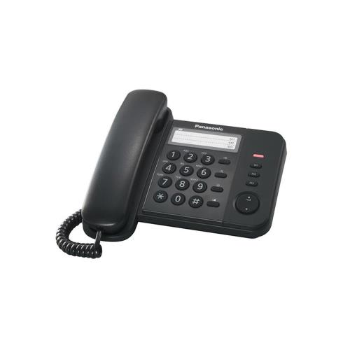 Σταθερό Τηλέφωνο Panasonic KX-TS520EX Μαύρο