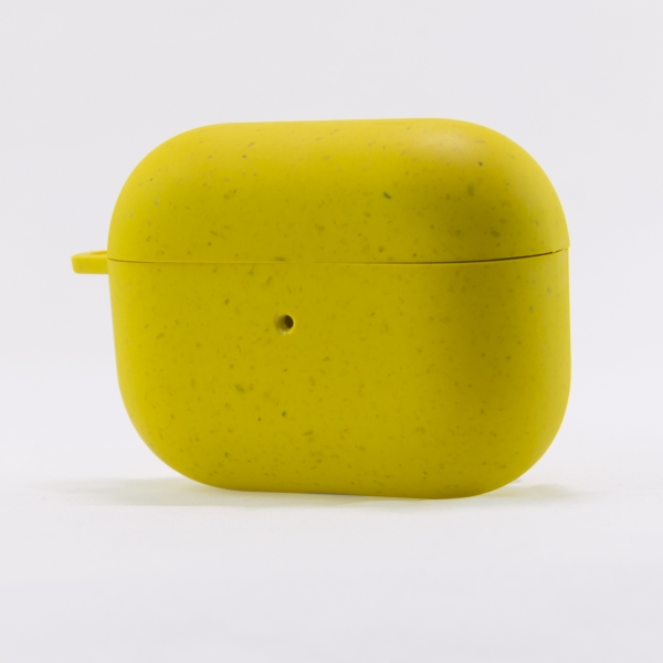 KSIX ECO FRIENDLY CASE FOR AIRPODS PRO yellow
