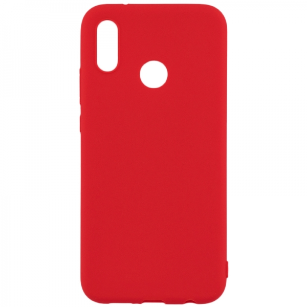 SENSO SOFT TOUCH HUAWEI P SMART 2019 / HONOR 10 LITE red backcover