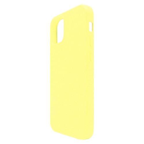 Liquid Silicon inos Apple iPhone 12 L-Cover Yellow