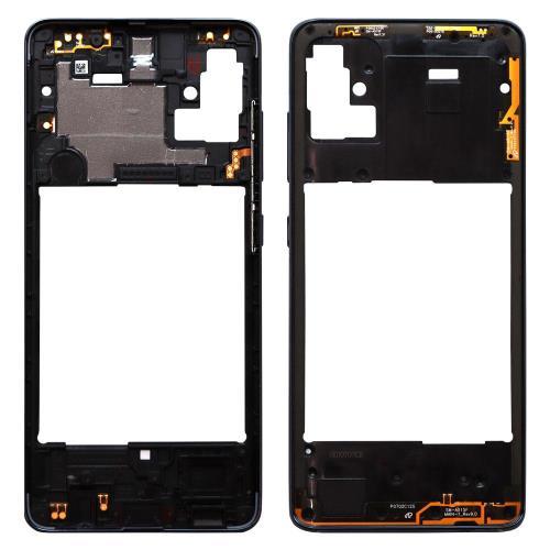 Middle Plate Samsung A515F Galaxy A51 Black (Original)