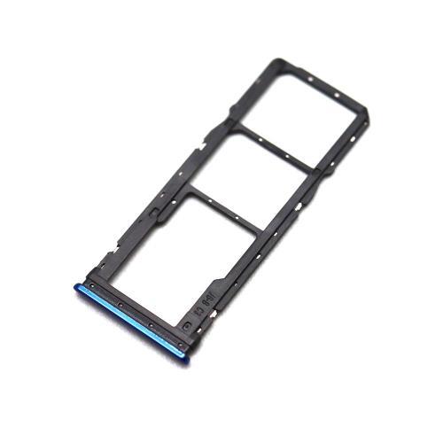 Sim & SD Card Holder Xiaomi Redmi Note 8 Blue (OEM)
