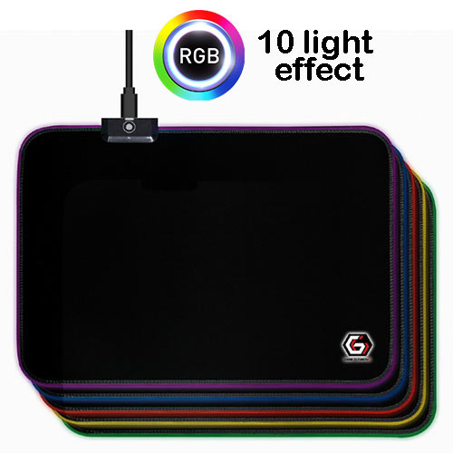 GEMBIRD GAMING MOUSE PAD WITH LED LIGHT FX LARGE