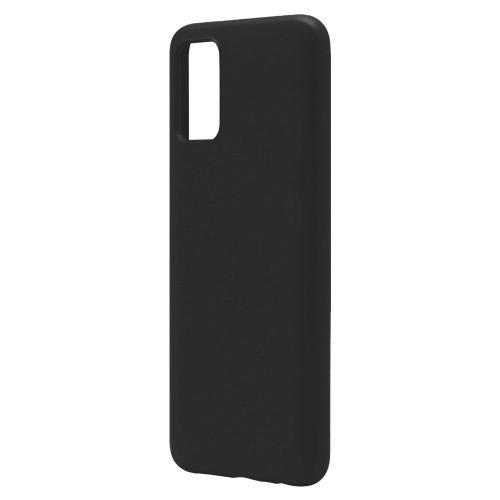 Liquid Silicon inos Samsung A025F Galaxy A02s L-Cover Matte Black
