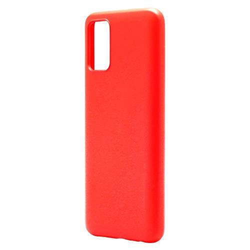 Liquid Silicon inos Samsung A025F Galaxy A02s L-Cover Red