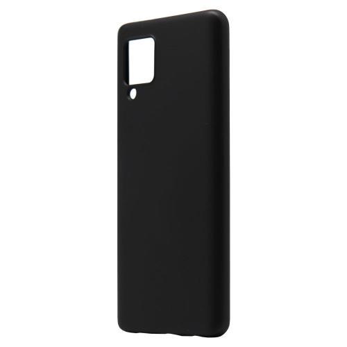 Liquid Silicon inos Samsung A426B Galaxy A42 5G L-Cover Matte Black